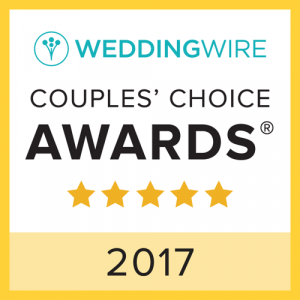 2017 Wedding Wire Couple's Choice Awards badge