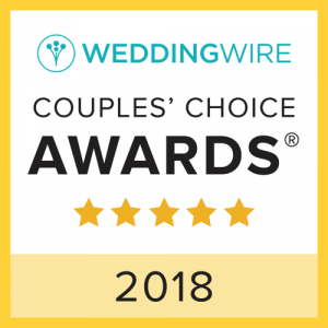 2018 wedding wire couples choice award badge
